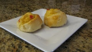 Cooking Tip #8 Pimento Cheese Pinwheels - Lynn's Recipes