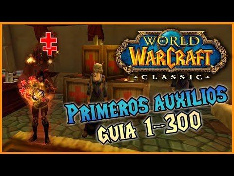 GUÍA Subir PRIMEROS AUXILIOS 🚑 1-300 || Horda Y Alianza || WoW Classic