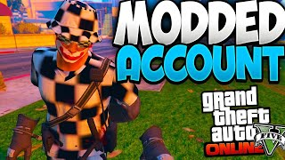 Grand Theft Auto V.Modded Account Giveaway
