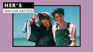 Music like Her's | Similar Artists Playlist