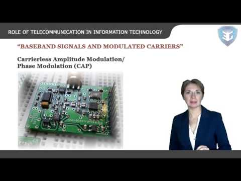 ROLE OF TELECOMMUNICATION IN INFORMATION TECHNOLOGY New
