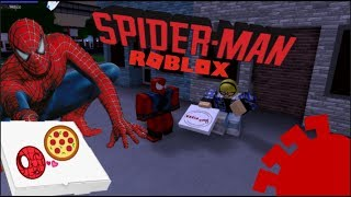 [ROBLOX] HOW TO DELIVER PIZZAS ON SPIDERMAN!   Spider-man: Blox-Verse!