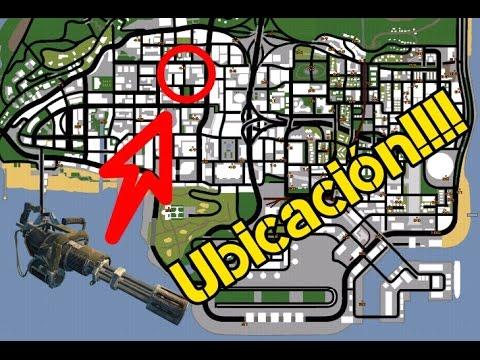 Ubicación De La Minigun | GTA: San Andreas