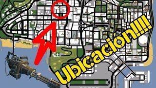 Ubicación De La Minigun Gta San Andreas Youtube