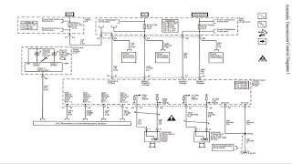 Chevrolet Equinox 2005 2009 Wiring Diagrams Youtube