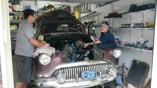 1951 Buick special first start up