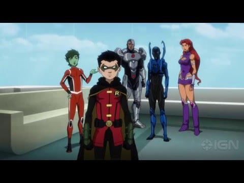 Justice League vs Teen Titans - Trailer Debut