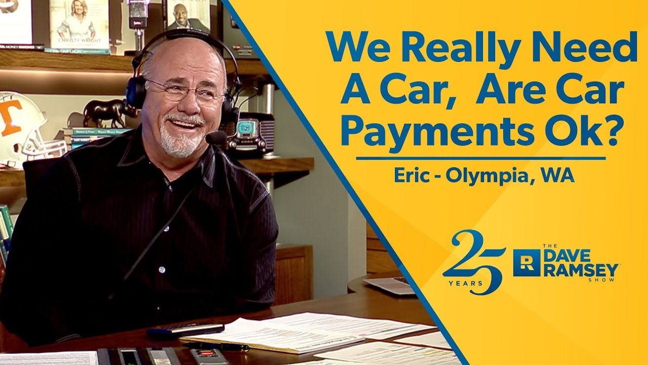 We Really Need A Car. Are Car Payments Okay? - YouTube