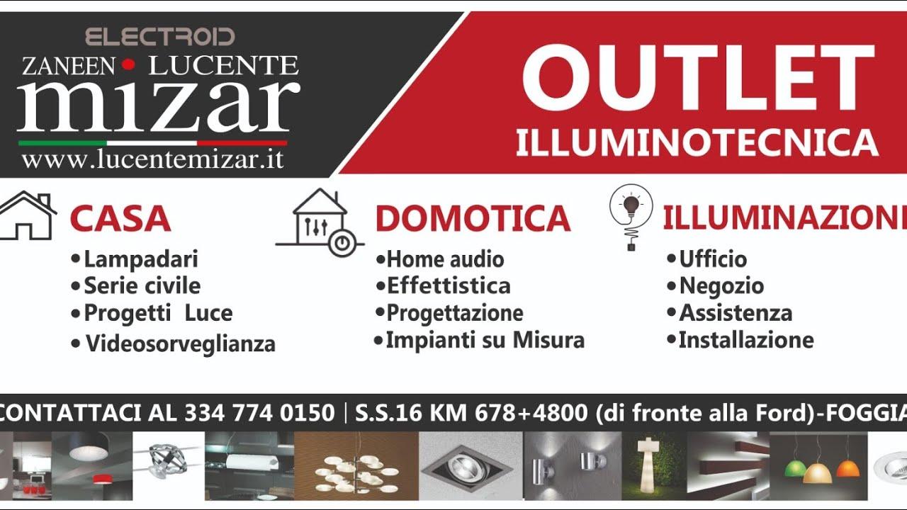 Negozi Di Lampadari A Salerno outlet illuminotecnica - domotica - design italy foggia