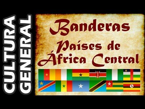 Banderas del Mundo - Países de África Central