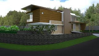 Sketchup House Exterior Design 3 Render With Vray 3.4