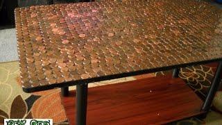 видео Мозаичные полы – из чего можно собрать эксклюзивное покрытие?