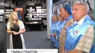 Смотреть видео Музей-диораму посетила делегация курского отделения
