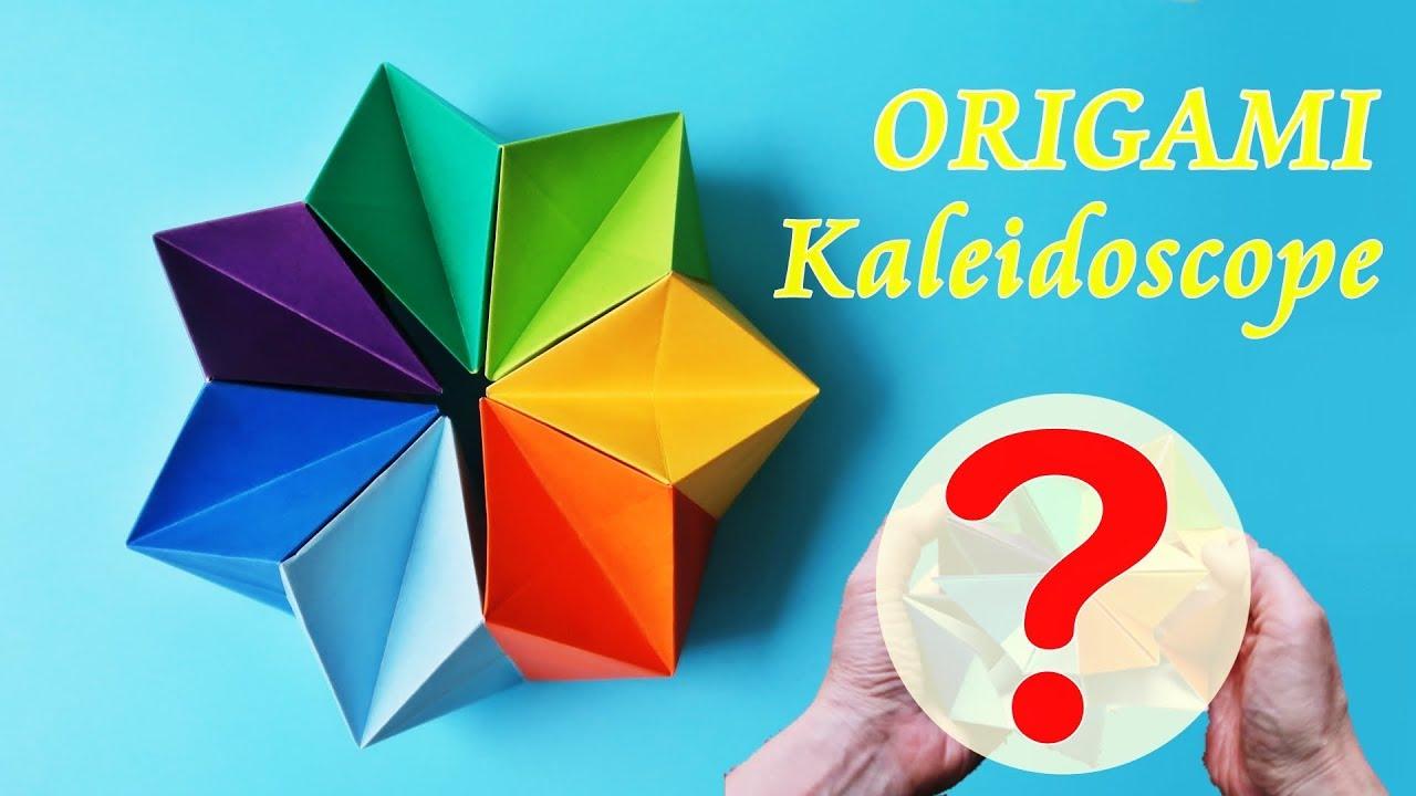 折り紙 万華鏡 作り方 「折り紙万華鏡」のアイデア 27 件 折り紙 万華鏡,
