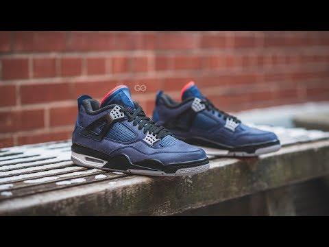 "Air Jordan 4 Retro Winter ""Loyal Blue"": Review & On-Feet"