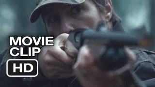 A Single Shot Movie CLIP - Hunting (2013) - Sam Rockwell Thriller HD