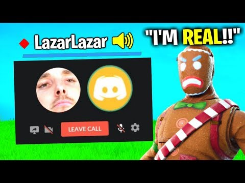Kid Pretends To Be LazarBeam, Gets EXPOSED.. (Fortnite)