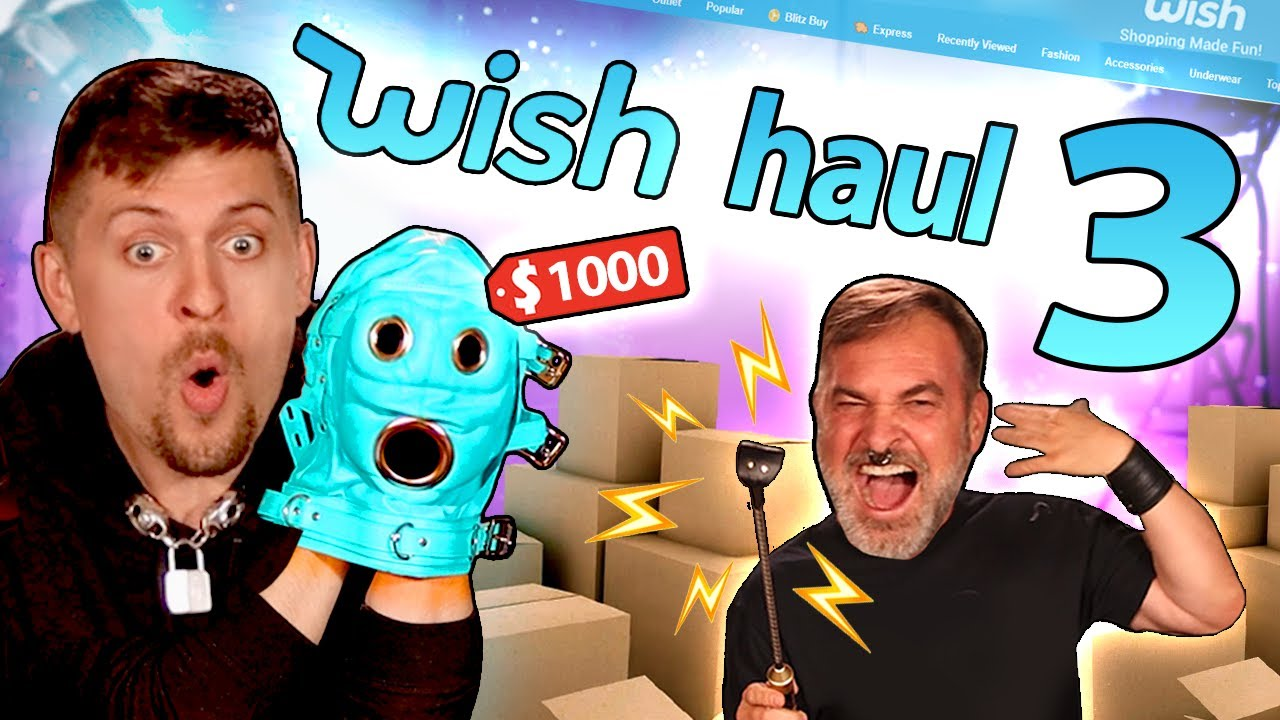 KINKSTERS TRY WISH.COM TOYS - Scam or Saving!?