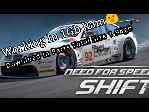 Need For Speed Shift Highly Compressed Pc.. Working In 1Gb Ram