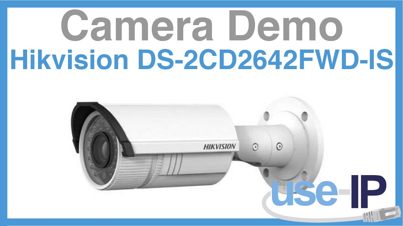 Camera Demo: Hikvision DS-2CD2642FWD-IS 4MP Bullet Camera