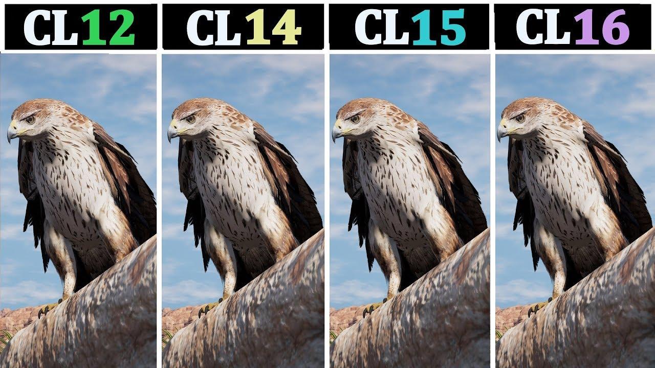 8GB 2400Mhz (CL12 vs CL14 vs CL15 vs CL16) | Tested 14 Games