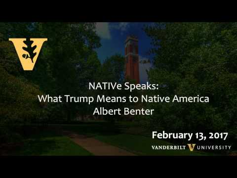 What Trump Means to Native America: Lecture by a Native Amer