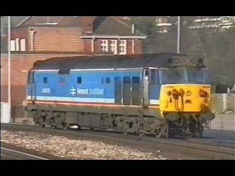 Exeter St Davids - 01/02/92 (with 50033 on Meldon Hoover railtour)