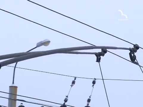 ТРК ВІДІКОН: 5 поривів тролейбусної контактної мережі