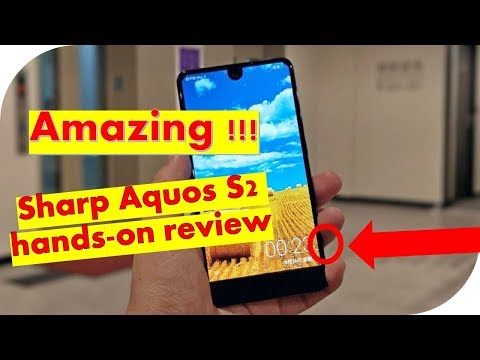 Amazing Sharp Aquos S2 hands on review