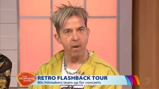 Martika & Limahl - Morning Show 11 July 2016