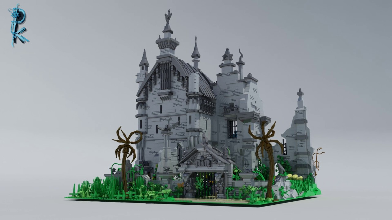 Lego Custom Edward Scissorhands Castle Youtube