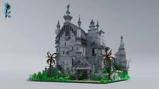 LEGO Custom Edward Scissorhands Castle