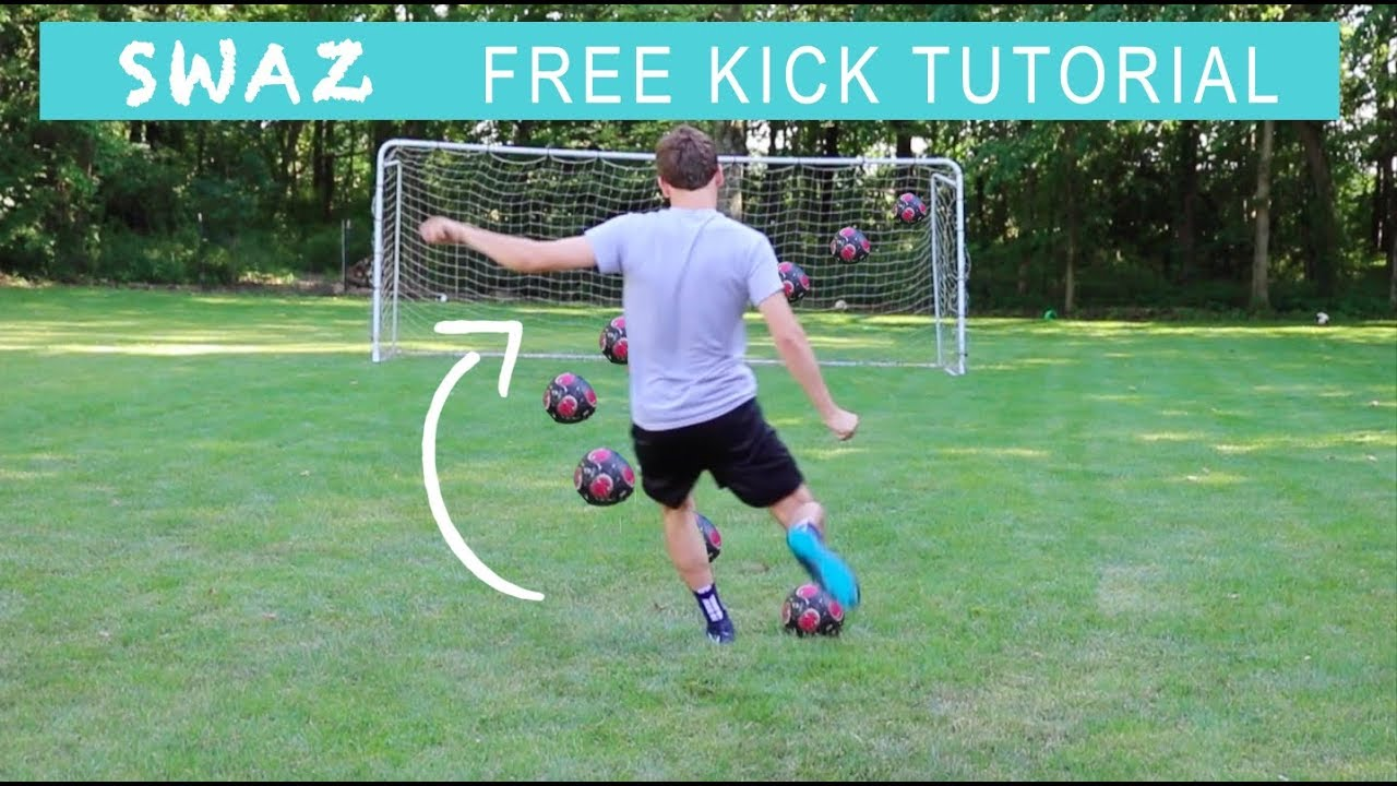 Roberto carlos free kick tutorial youtube.