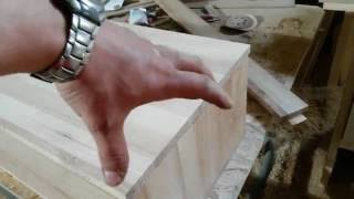 Мебель для спальни 3. Угловое сращивание тумб. Масло Rubio Monocoat(, 2016-05-25T01:58:08.000Z)