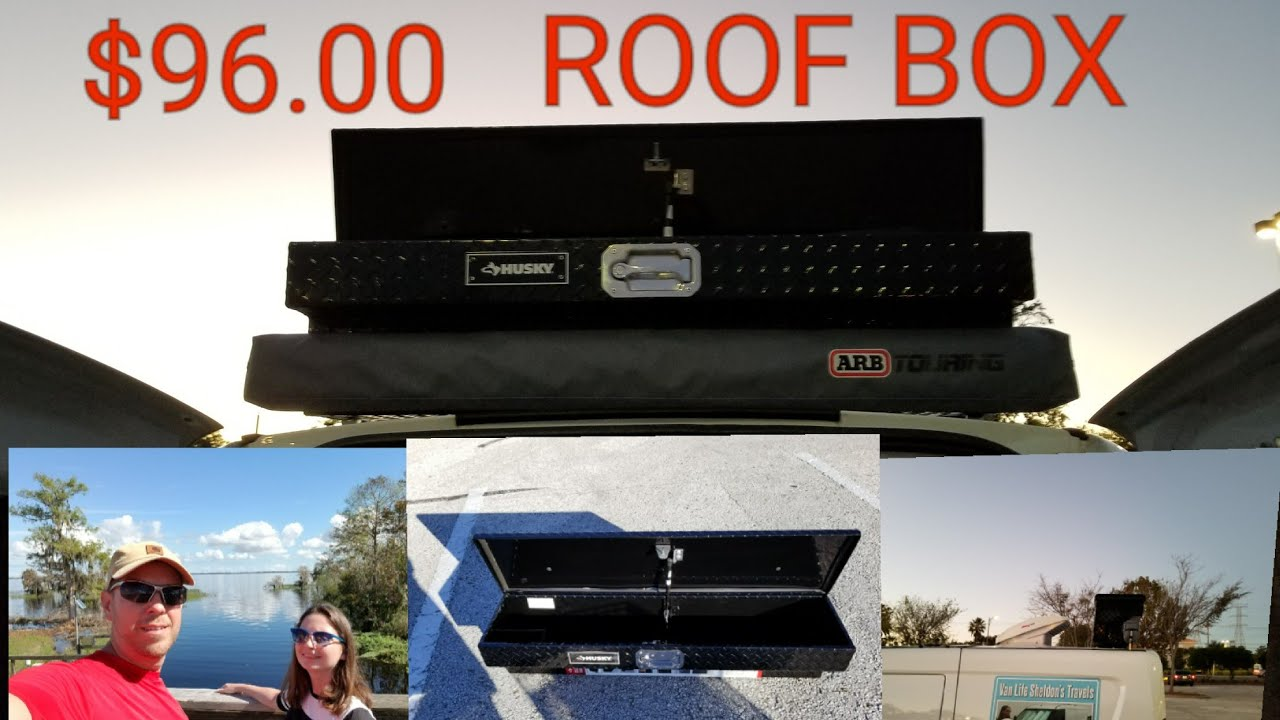 Diy Van Roof Box Storage Solution Arb Awning New 96 00