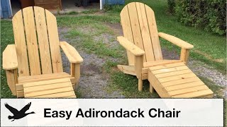 DIY: Easy Adirondack Chair