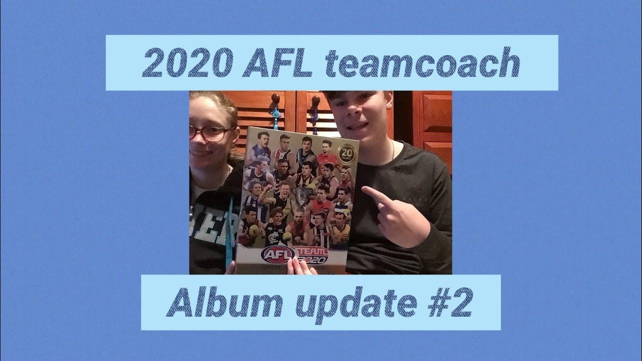 2020 AFL teamcoach album update #2