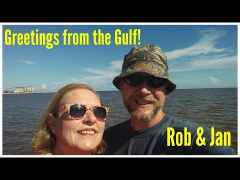 On Vacation in Gulfport, MS
