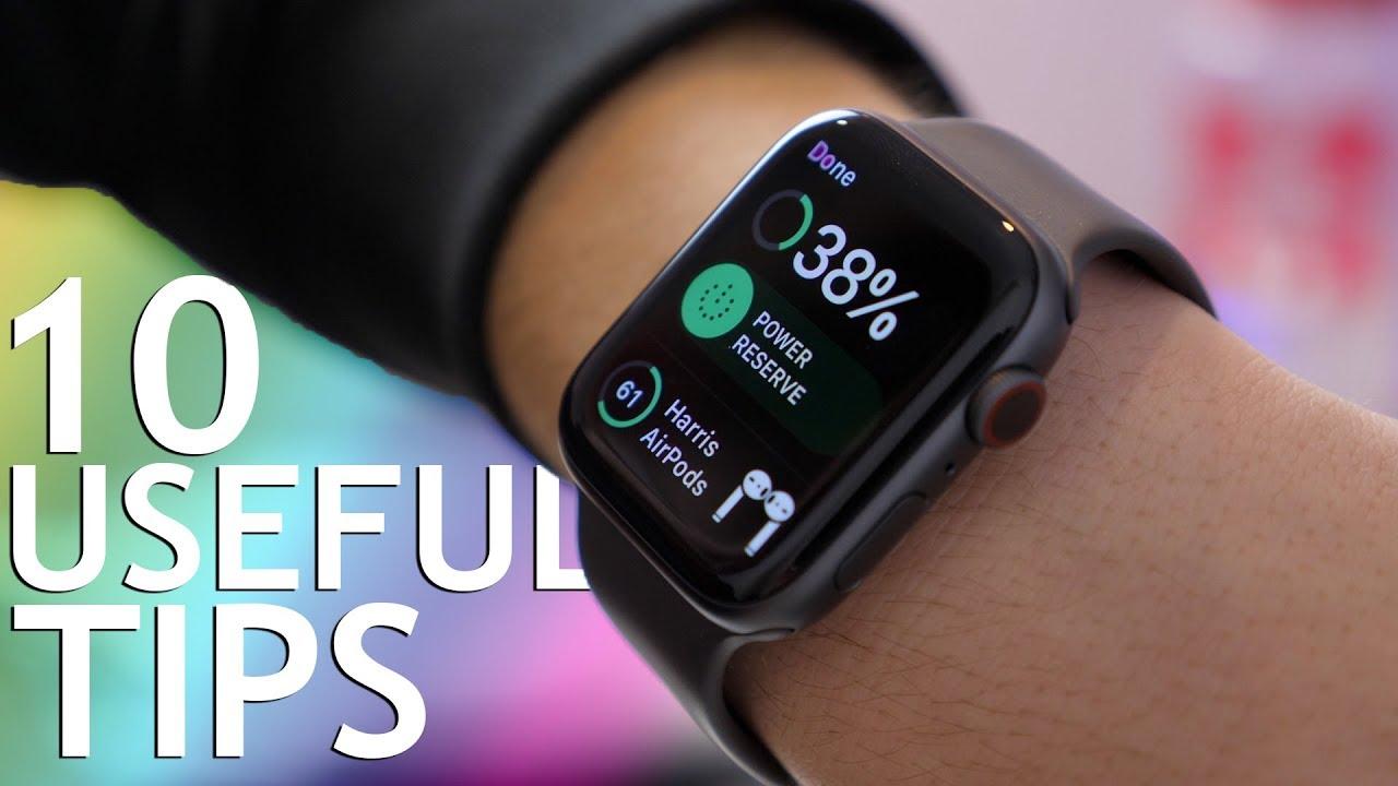 dc2eca298ed 10 (Actually) Useful Apple Watch Tips - 2019 - YouTube