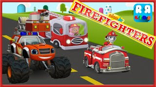 Nick Jr. Firefighters - PAW Patrol Marshall, Molly and Blaze