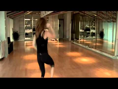 Sasha Alexander dances Happy