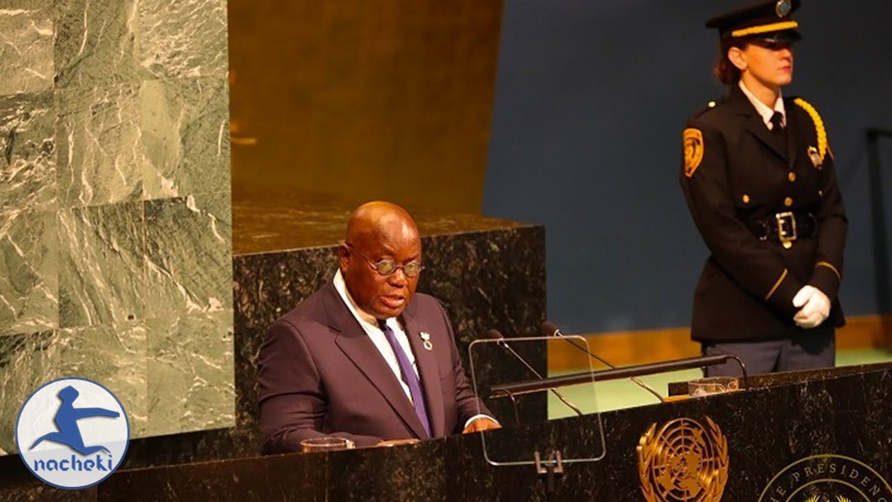Ghanaian President Speech Exposes the West Controlled United Nations