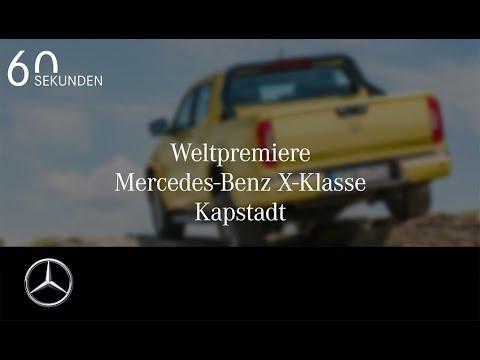 Mercedes-Benz X-Klasse: Alle Highlights in 60 Sekunden
