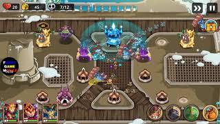 FGMobile - Kingdom Defense: Tower Defense - Level 15 - Hard ( 3 Stars )