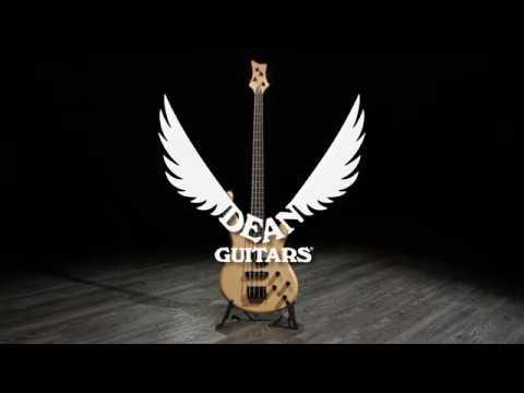 dean edge 1 pj bass guitar vintage natural gear4music demo youtube. Black Bedroom Furniture Sets. Home Design Ideas