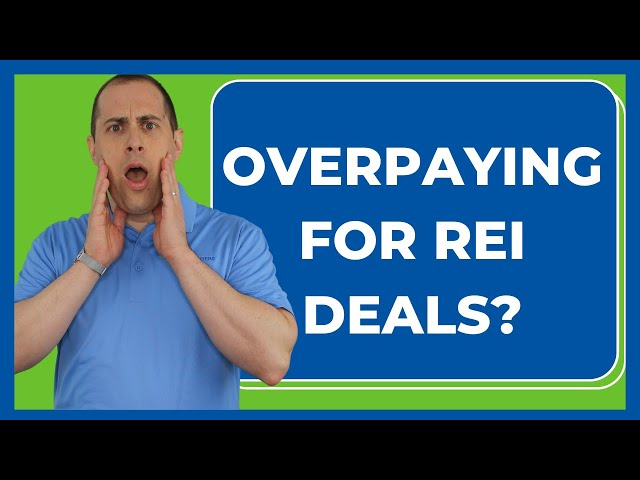 How To Avoid Paying Too Much For REI Deals