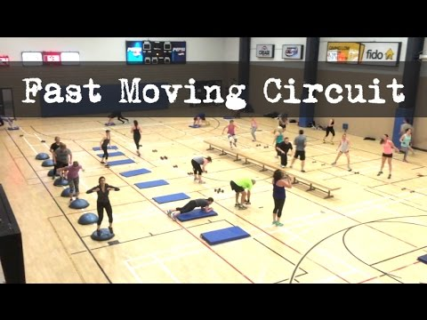 Moving Circuit - High Intensity Group Workouts