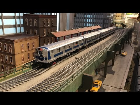 New York Transit Museum 2016 Grand Central Holiday Train Show (HD 60 FPS)