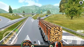 Truck Simulator Europe 2 - Wood Transport - Android Gameplay FHD