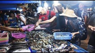 Pattaya Fresh Seafood On Koh Larn Market Pattaya Thailand